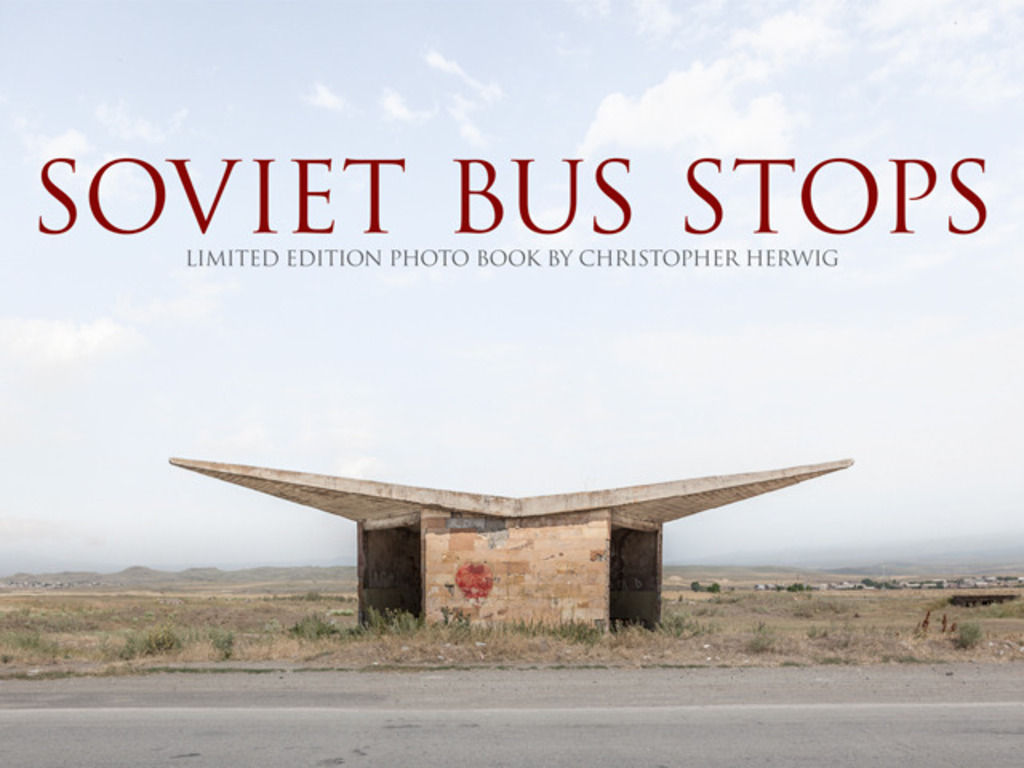Soviet Bus Stops - Limited edition photo book's video poster