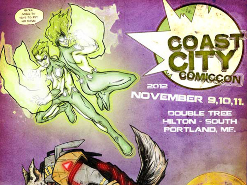 Coast City Comicon's video poster