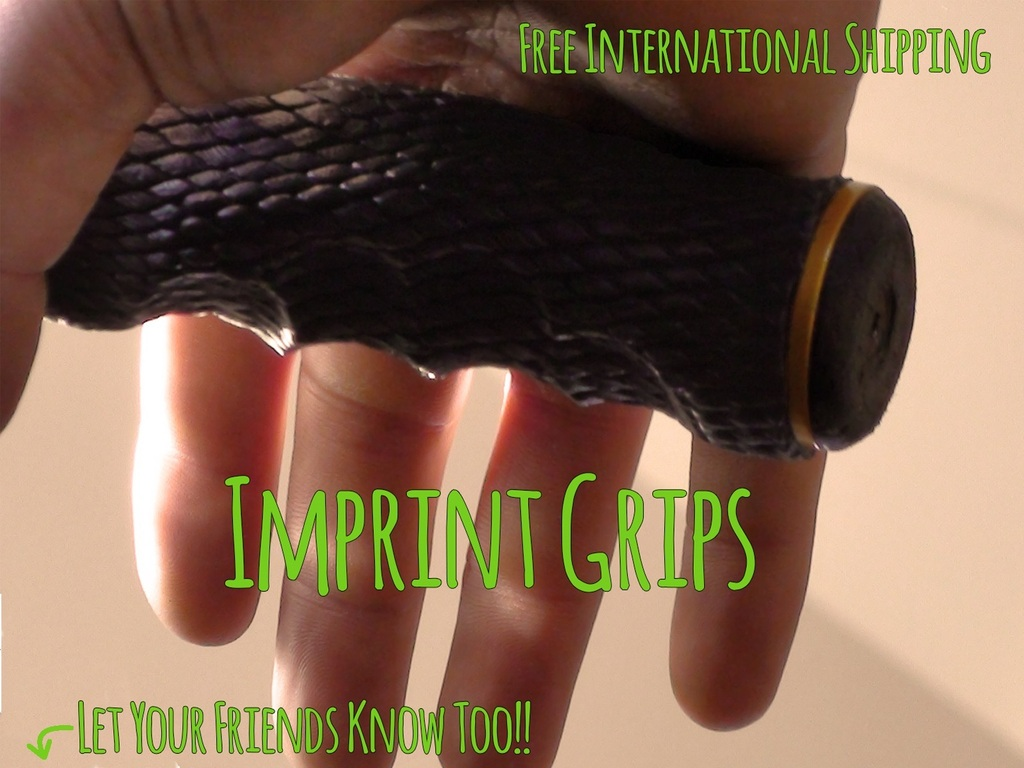 Imprint Bicycle Grips - Make Your Mark's video poster
