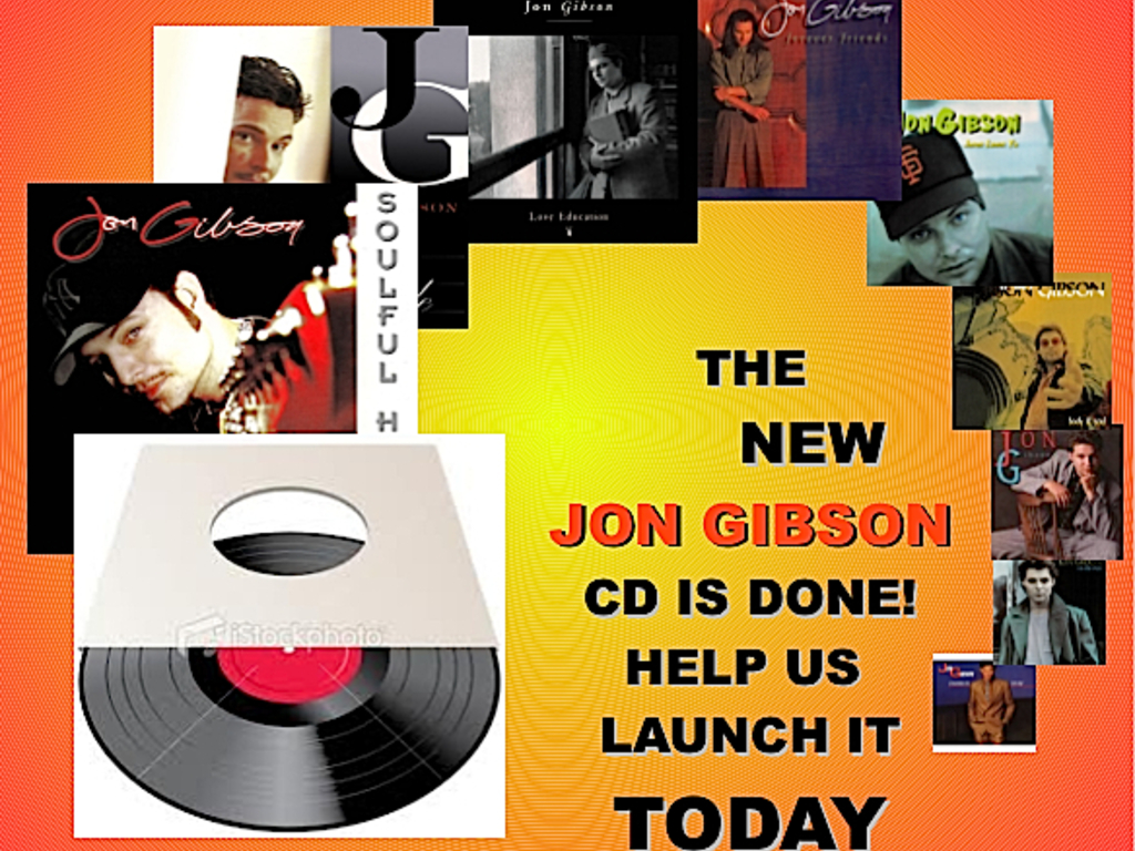 The New Jon Gibson CD is Finished, Help Me Launch It!'s video poster