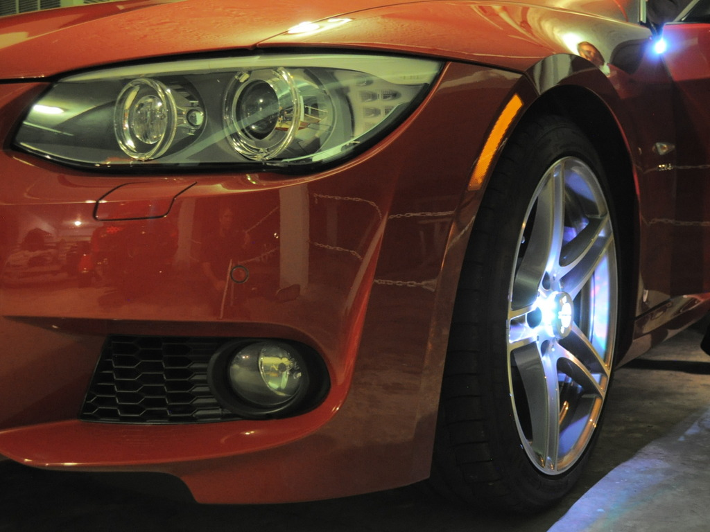 Car Wheel Lights With Your Logo & Future Smartphone Apps's video poster