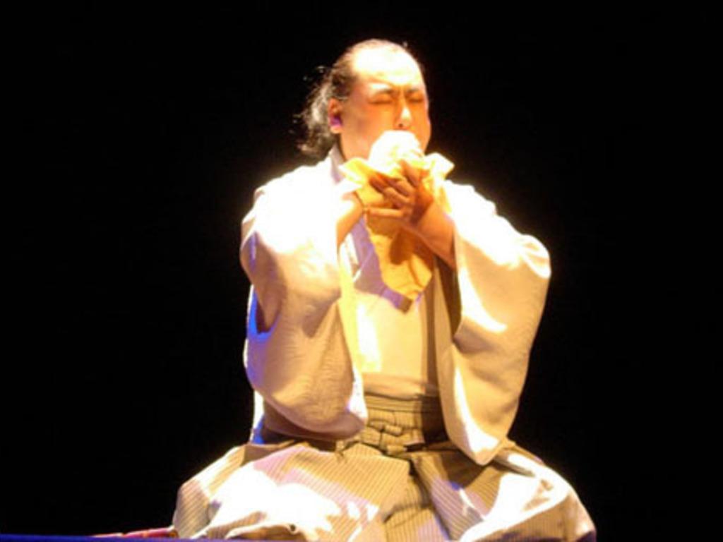 """courage,"" a dance work with stone flute by Kazuya Yokozawa's video poster"
