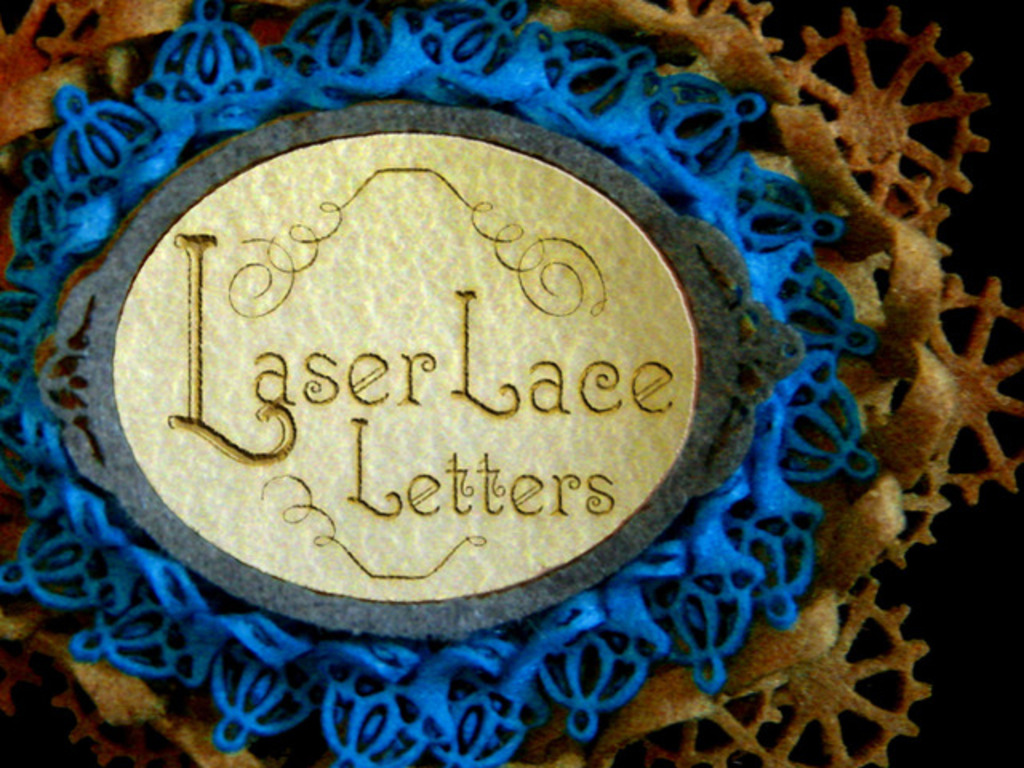 Laser Lace Letters - 7 Tangible Steampunk Stories's video poster
