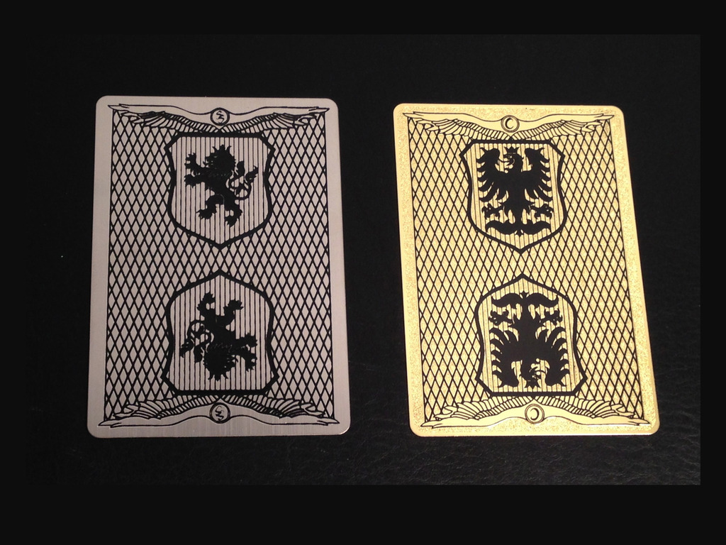 Metal Playing Cards, Stainless Steel & Copper + Bicycle deck's video poster