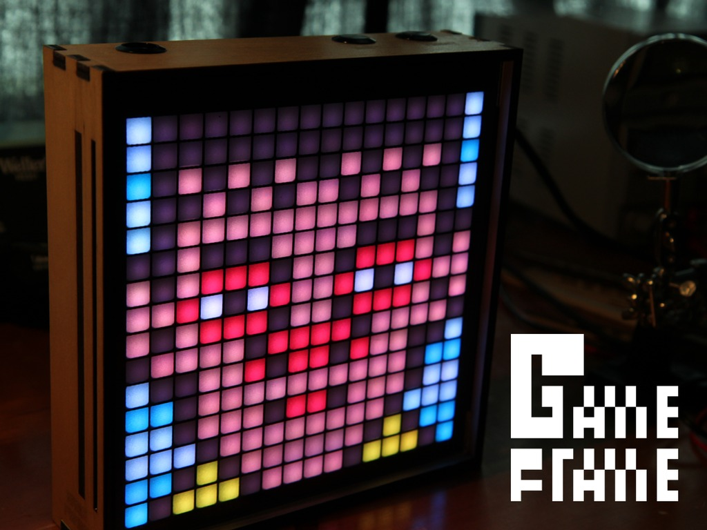Game Frame: The Art of Pixels's video poster