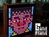 Game Frame: The Art of Pixels