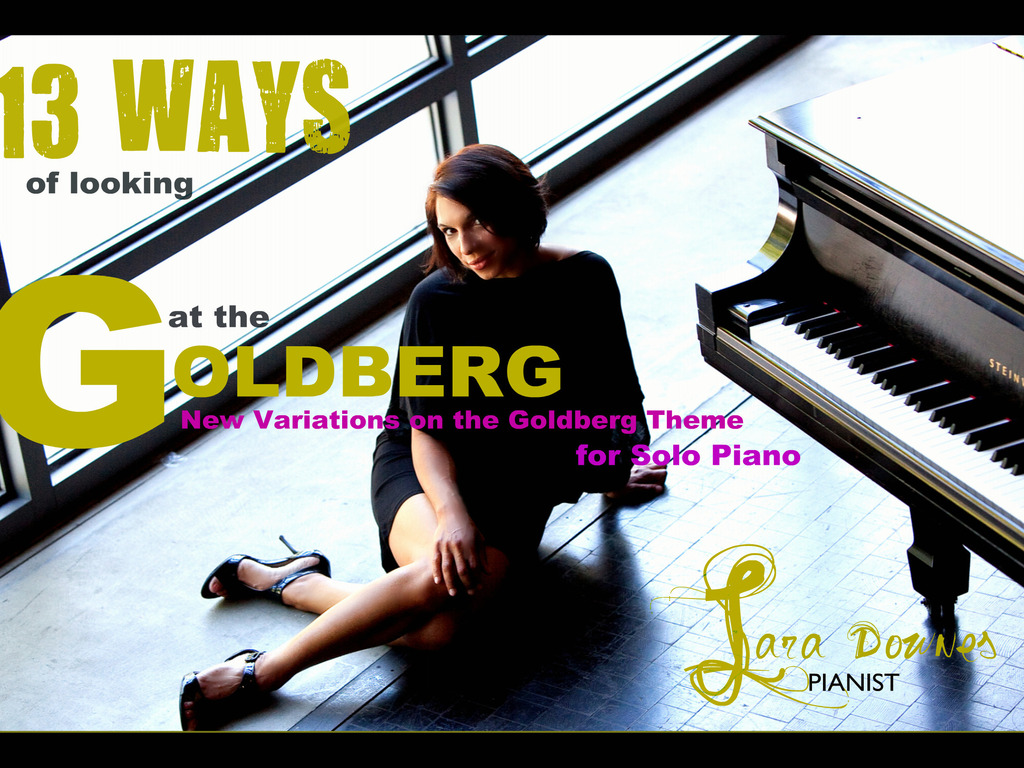 13 WAYS OF LOOKING AT THE GOLDBERG: Bach Reimagined's video poster