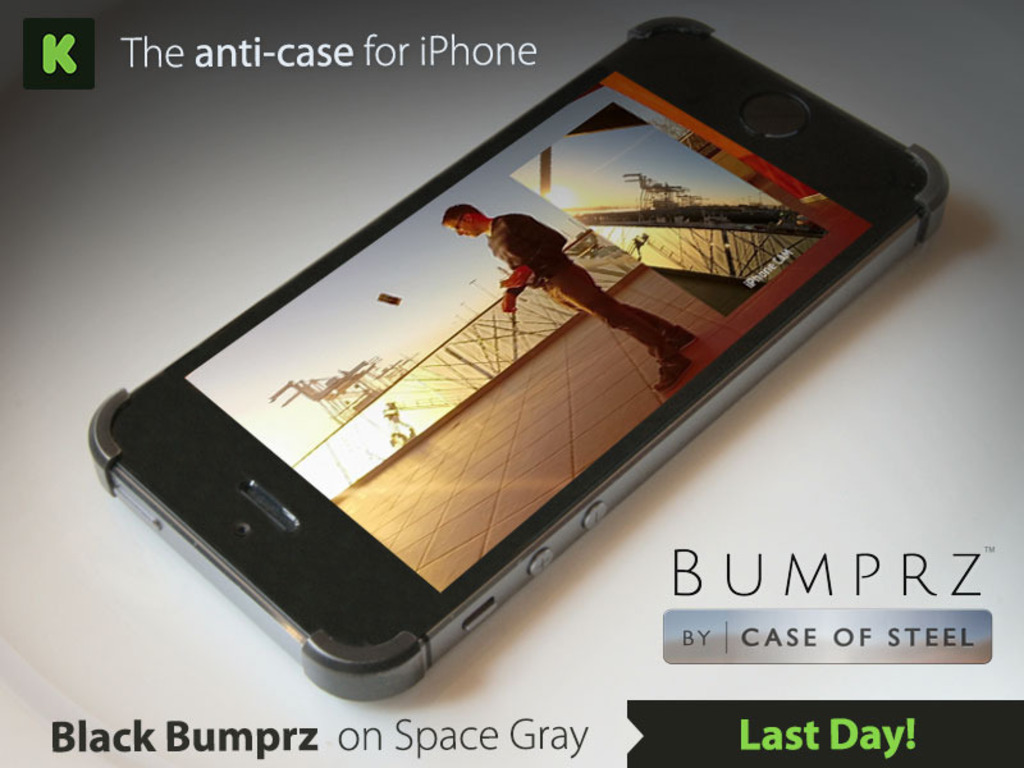 Bumprz, the most minimal iPhone case. Pre-Order Now!'s video poster