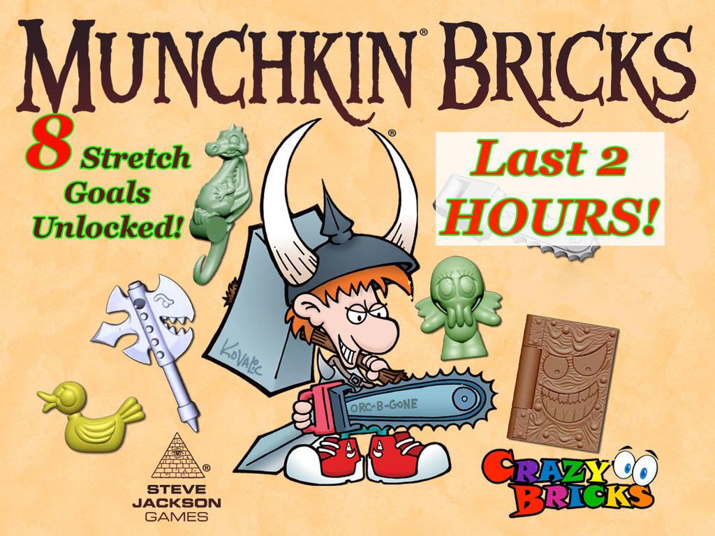 MUNCHKIN® BRICKS - Accessories for your miniature figures's video poster