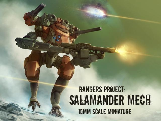 Campagne kickstarter mecha rangers project