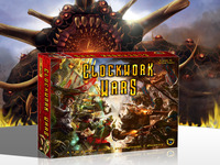 Clockwork Wars, a fantasy-steampunk war game
