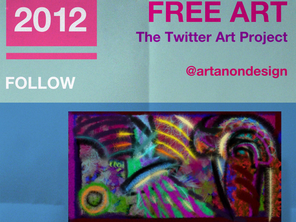 The Twitter Art Project's video poster