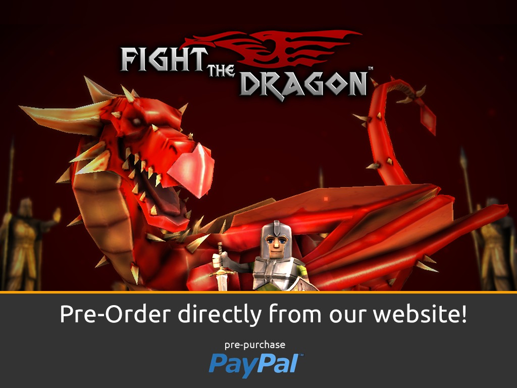 Fight The Dragon - A Mini Action RPG + Construction Kit's video poster