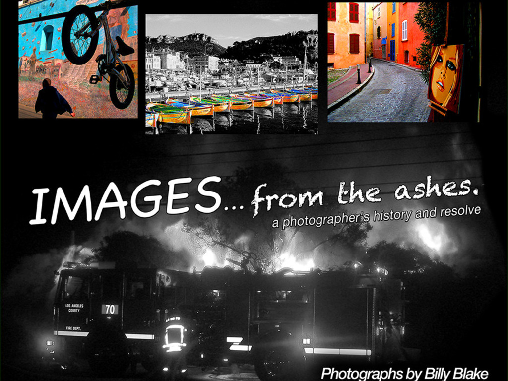 IMAGES ... From the Ashes  -  a photographer's resolve's video poster