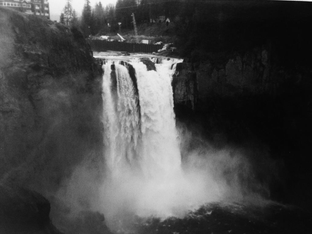 """""""FALLS"""" an album inspired by the Pacific Northwest's video poster"""