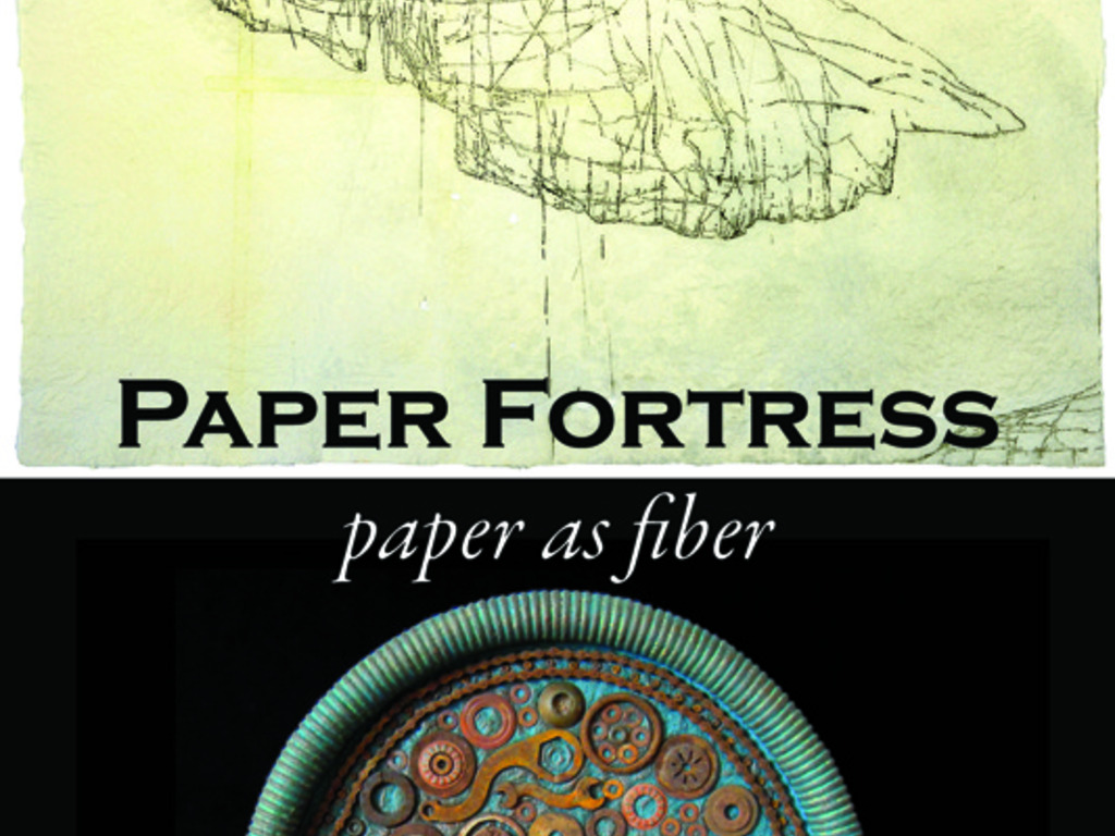 """Paper Fortress: Paper as Fiber"" a group exhibition's video poster"