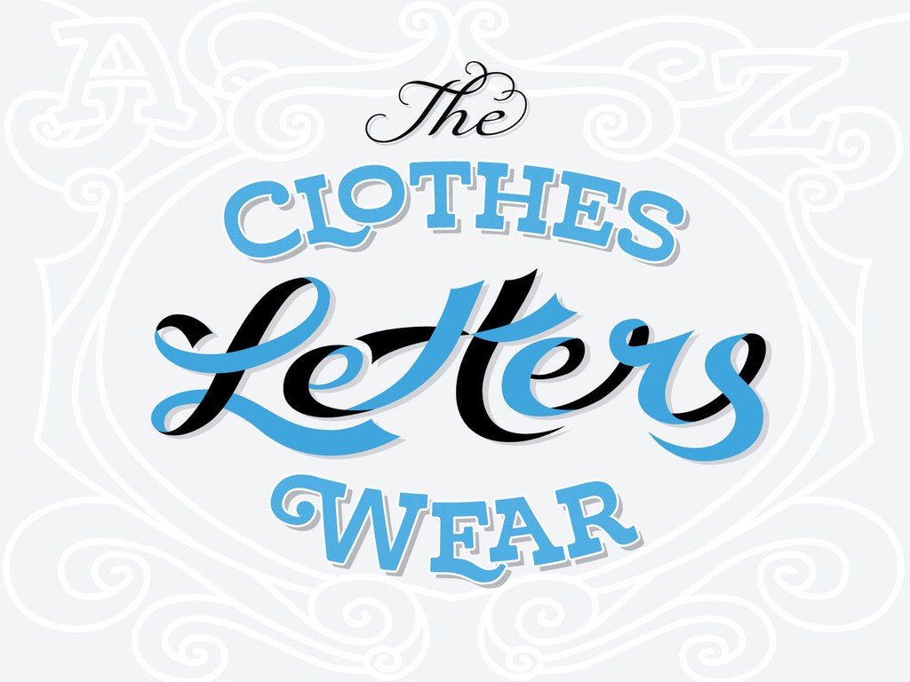The Clothes Letters Wear's video poster