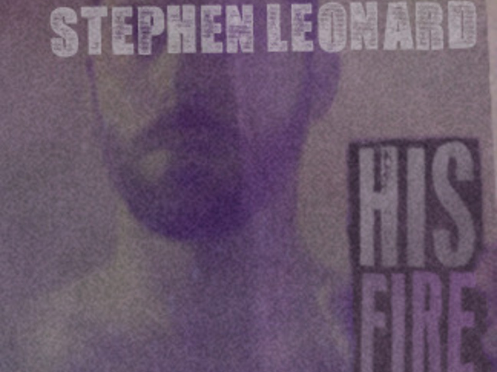 """Stephen Leonard gathering wood for """"His Fire""""'s video poster"""