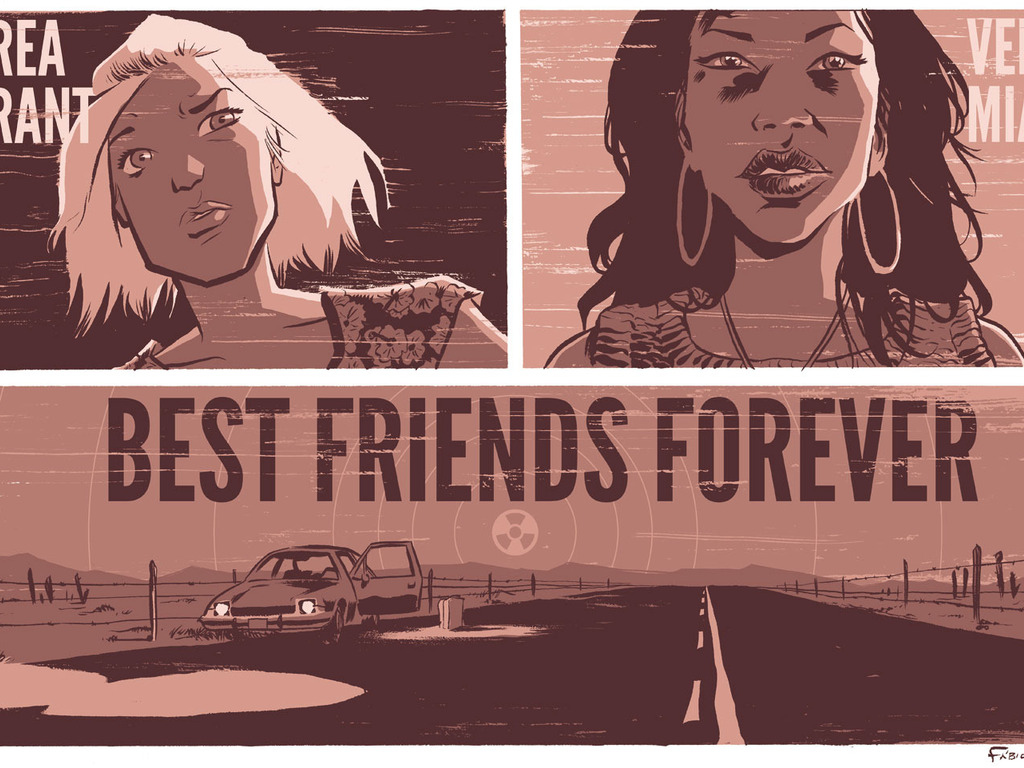 BEST FRIENDS FOREVER (an apocalyptic feature film)'s video poster