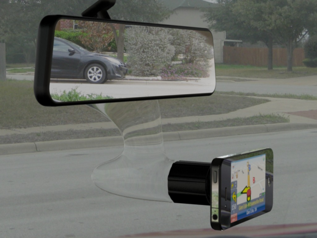 Titan:The Best Clear Acrylic Vehicle Smart Phone Holder's video poster
