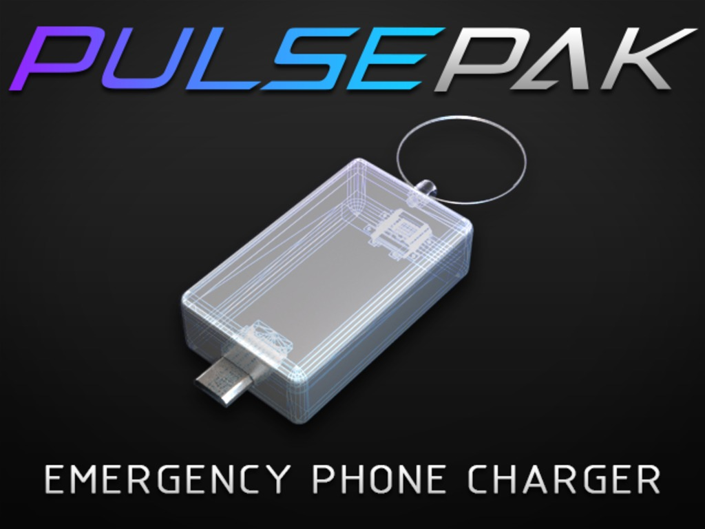 PulsePak - Mini Battery Pack for Emergency Phone Charging's video poster