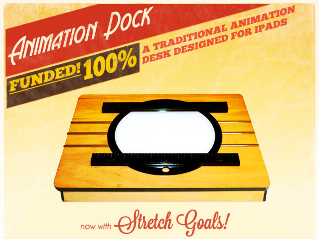 Animation Dock - the Vintage Animation Desk for Tablets's video poster
