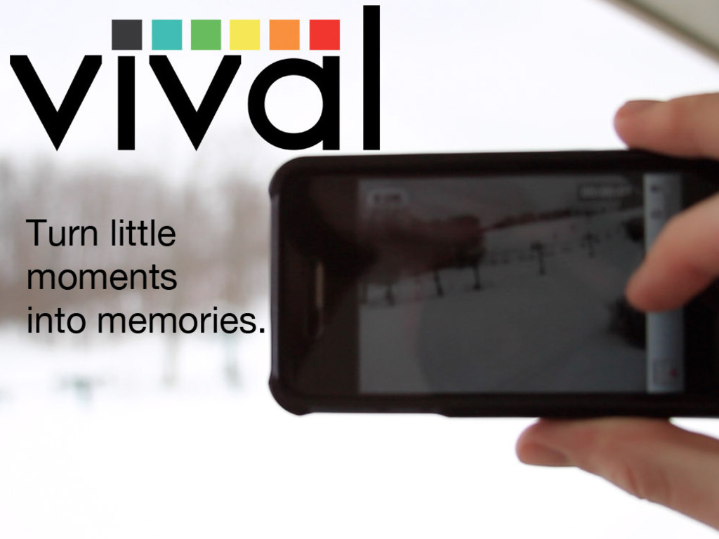 Vival: a mobile app that compiles your videos into montages's video poster