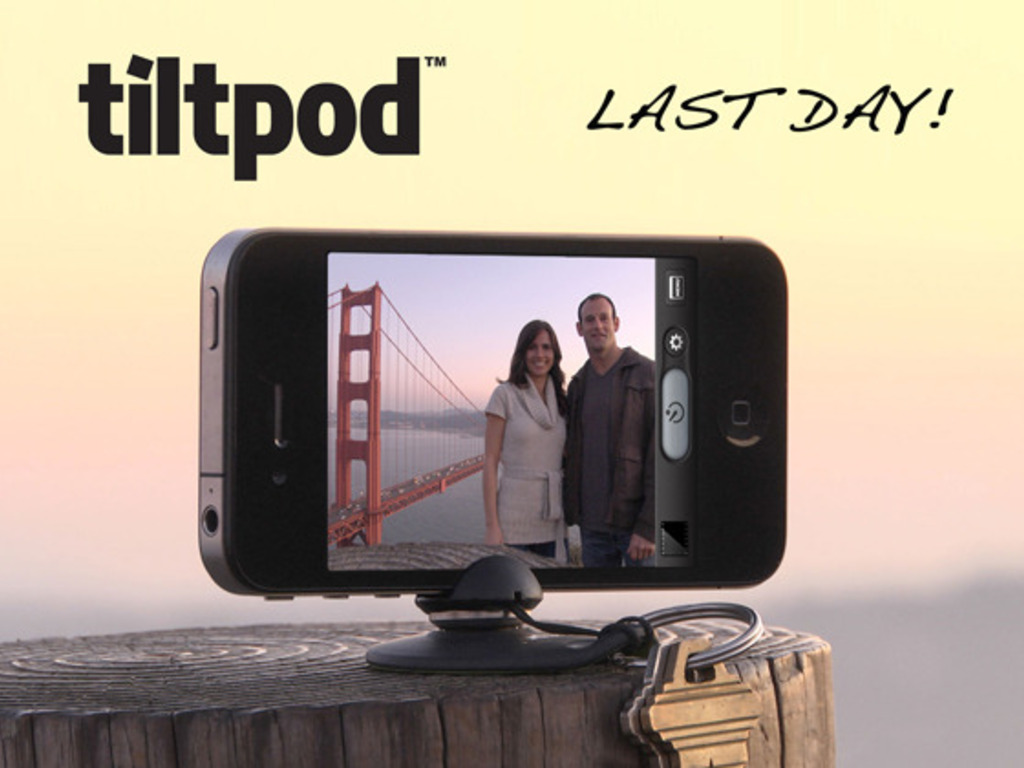 The tiltpod - world's smallest articulating iPhone stand's video poster