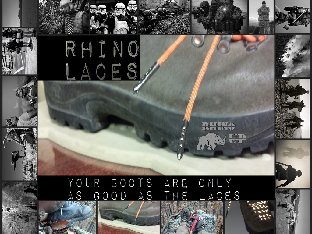 Rhino Laces: *Fireproof and Cut-Proof Boot Laces*'s video poster