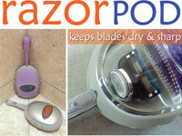 RazorPOD - simple innovation keeping your razor sharp!