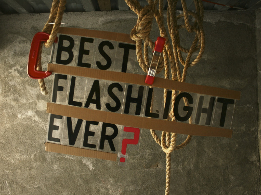 The Best Flashlight Ever.'s video poster