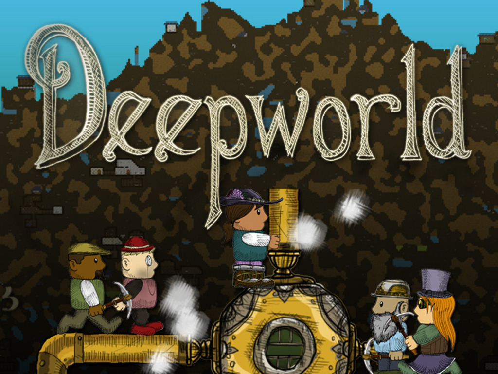 Deepworld: A Cloud-Based Multiplayer Crafting Adventure's video poster