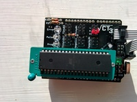 Arduino as ISP shield, supports Atmega328/1284 Attiny85/4323