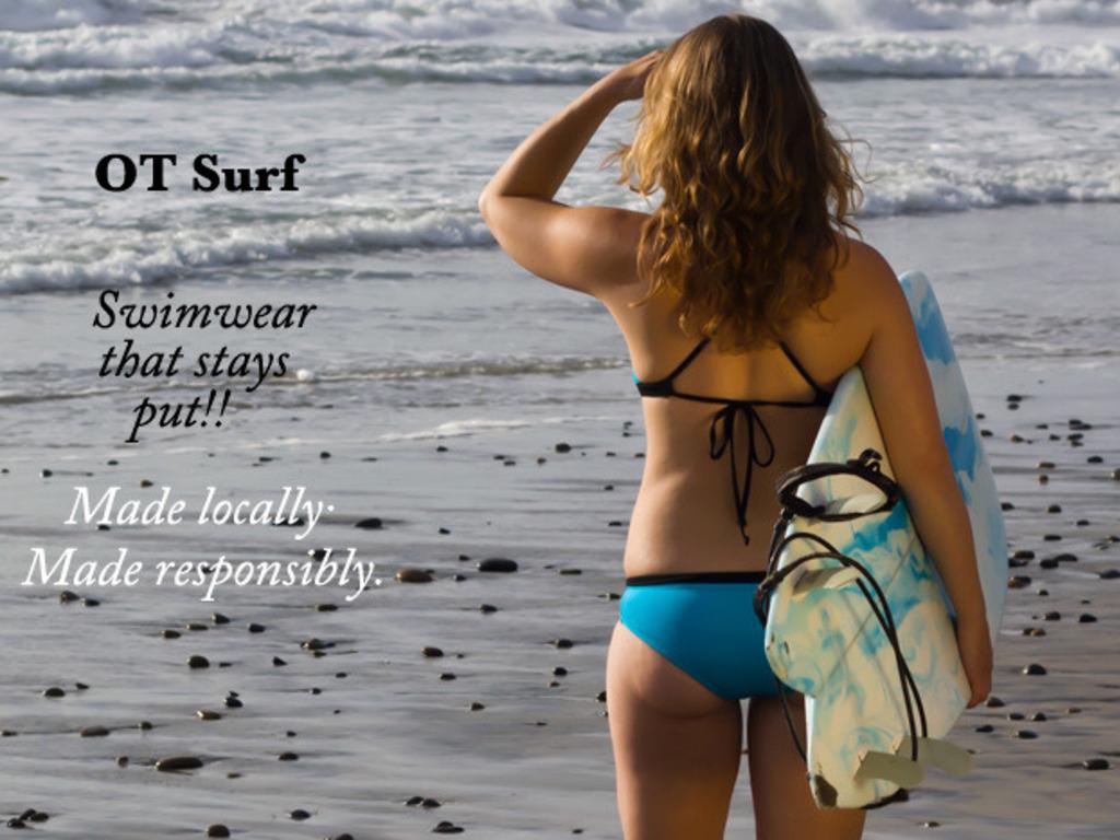 Bikini That Stays Put by OT Surf's video poster