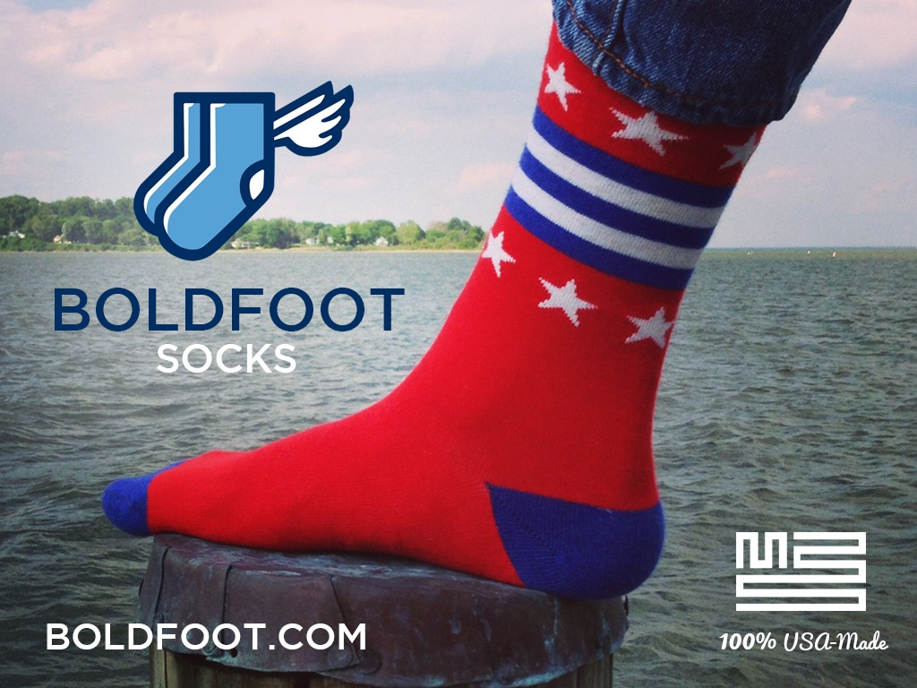 Boldfoot: Awesome socks re-igniting the USA-made movement's video poster