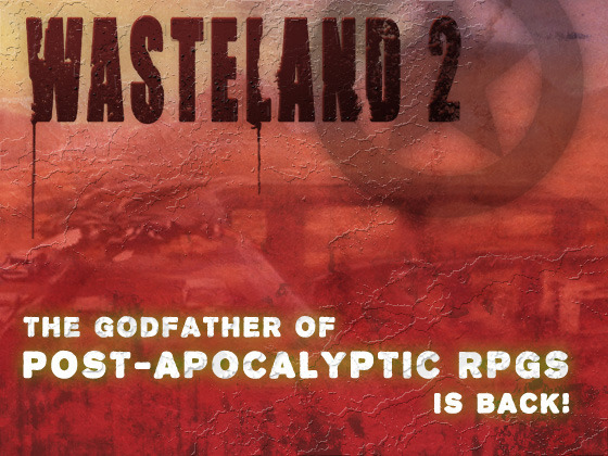 Wasteland 2's video poster