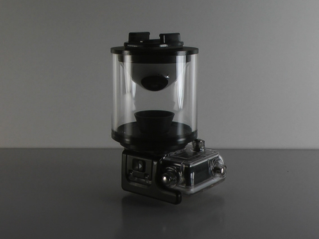 Eye Mirror 360º lens for any camera. GoPro and Oculus ready.'s video poster