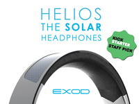 HELIOS - The world's first wireless solar powered headphones