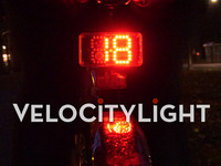 VeloCityLight - The Intelligent Speedometer Bike Light