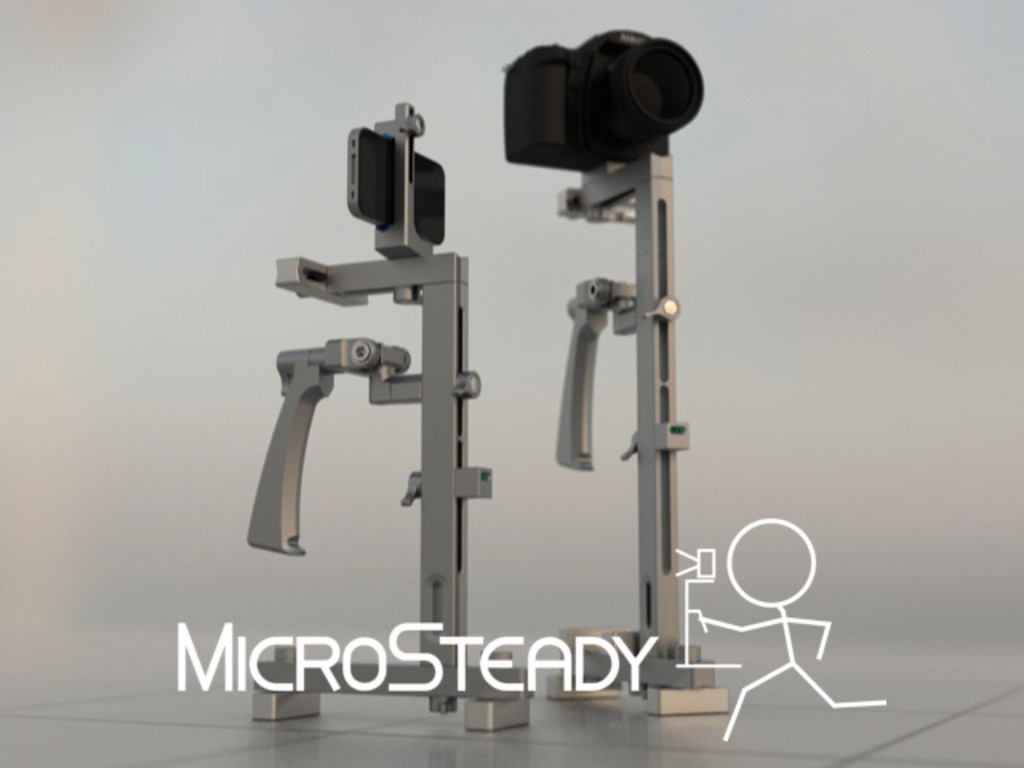 MicroSteady - Camera Stabilizer for Smartphones to DSLRs's video poster