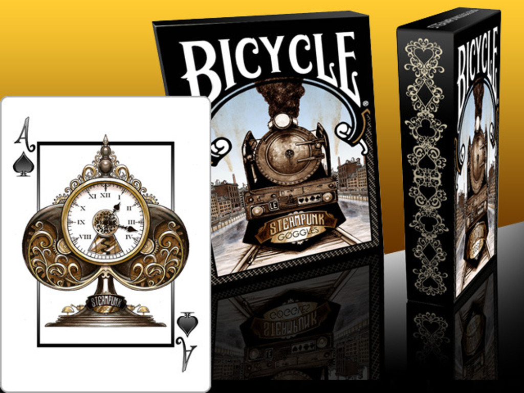 Steampunk Goggles Playing Cards Deck - USPCC Bicycle ® LE's video poster