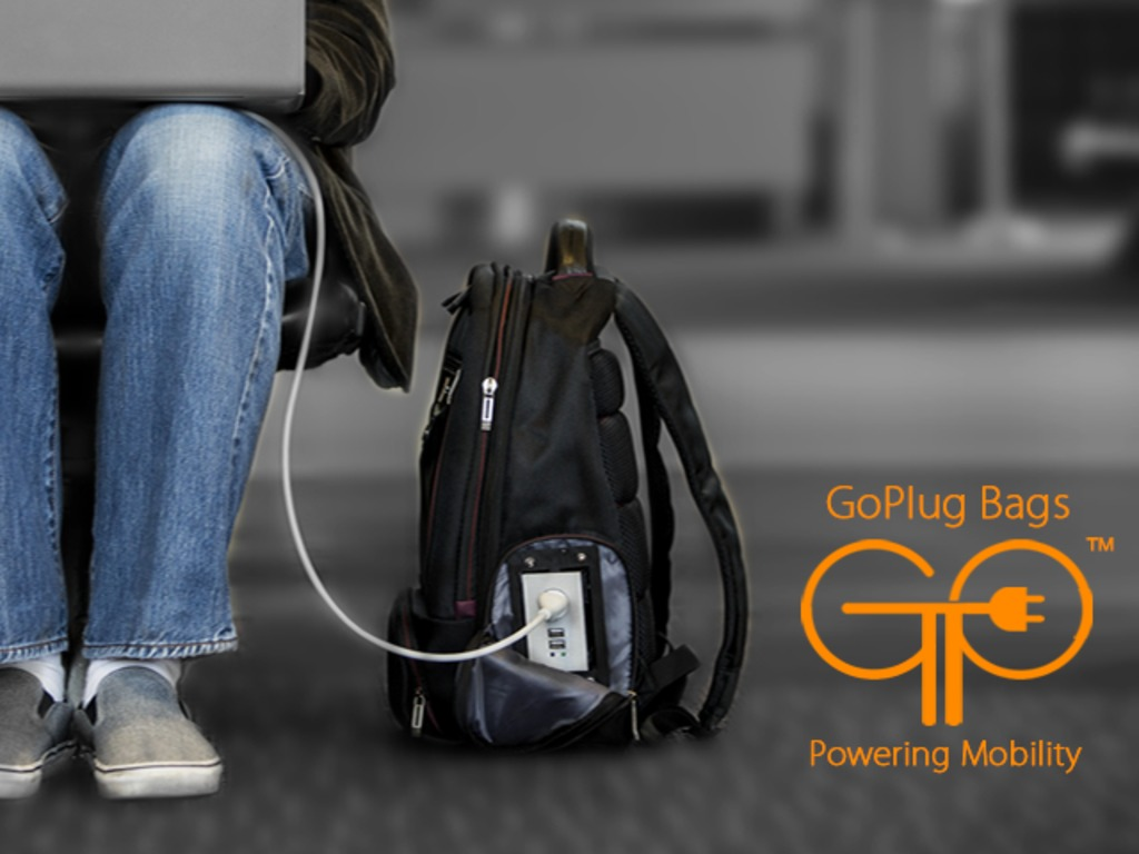 GoPlug - Powered Bags's video poster