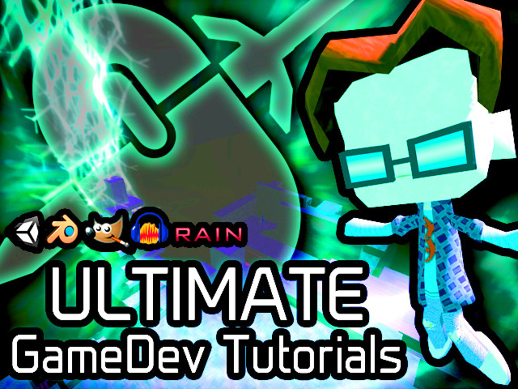Ultimate GameDev Tutorials: Make Your First Video Game!'s video poster