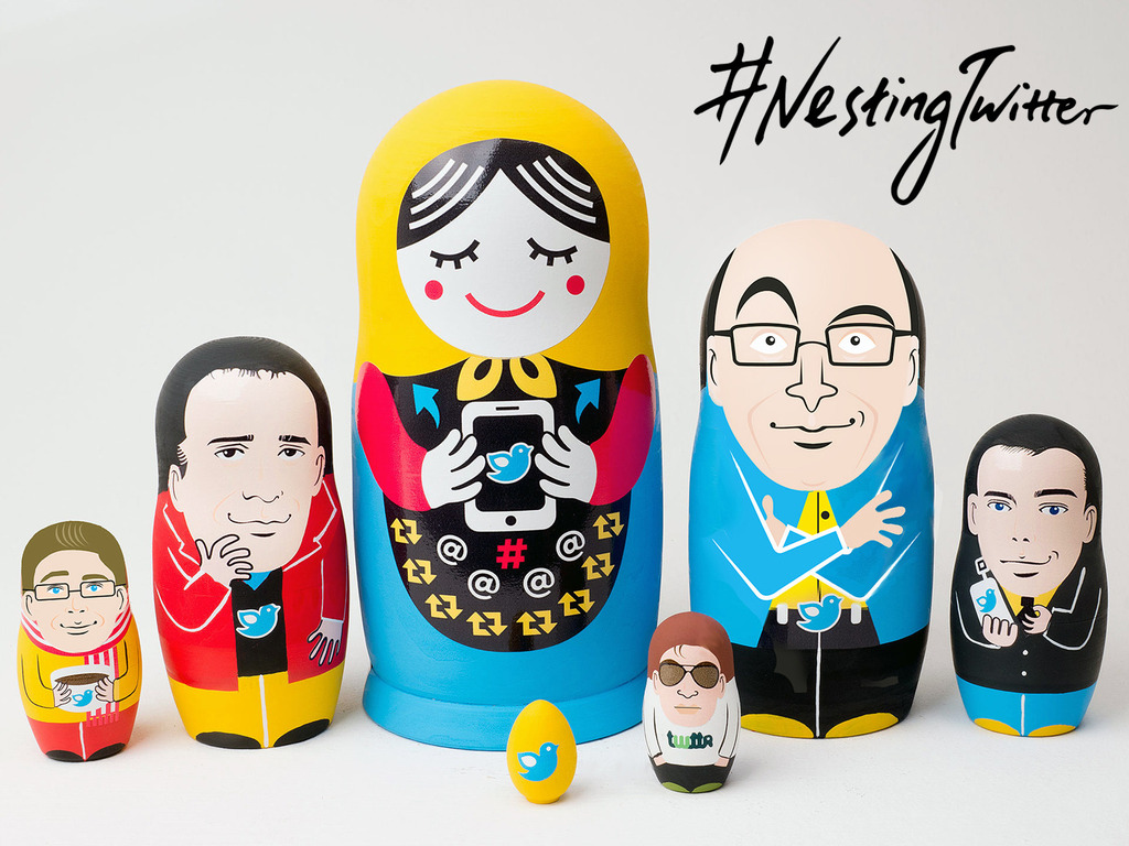Nesting Twitter: A Startup Story Told Through Nesting Dolls's video poster