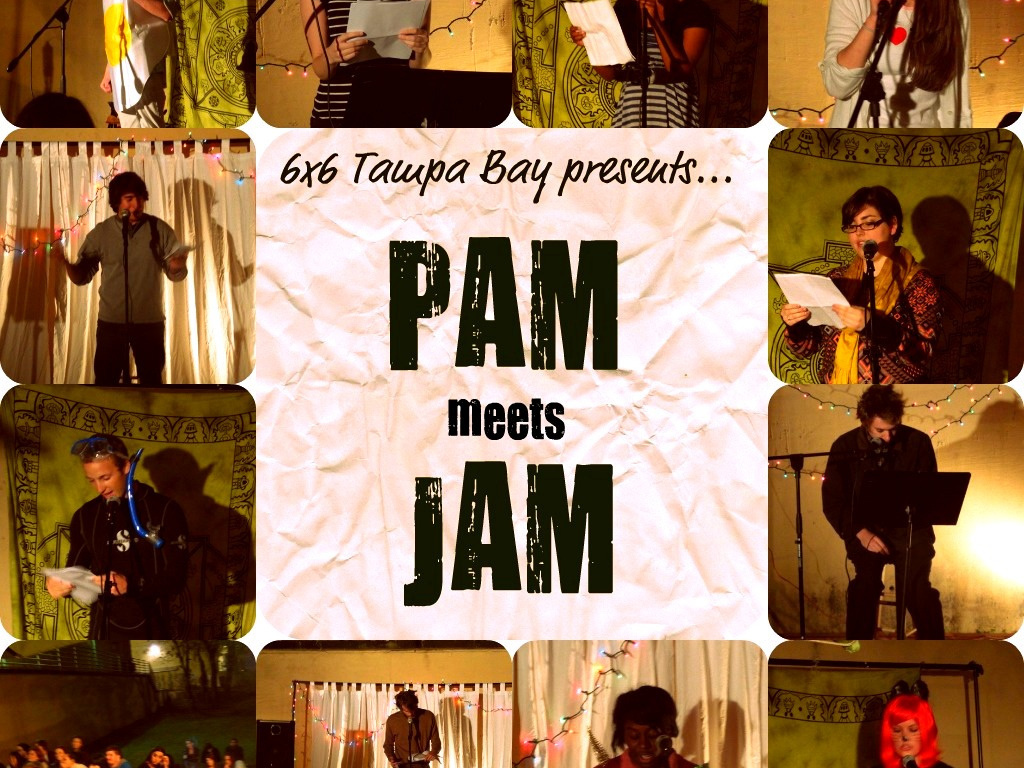6X6 Tampa Bay Presents: PAM Meets JAM's video poster
