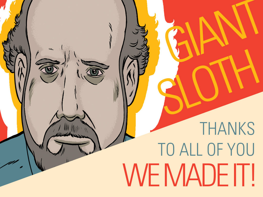 Giant Sloth - An animated crisis starring Paul Giamatti's video poster