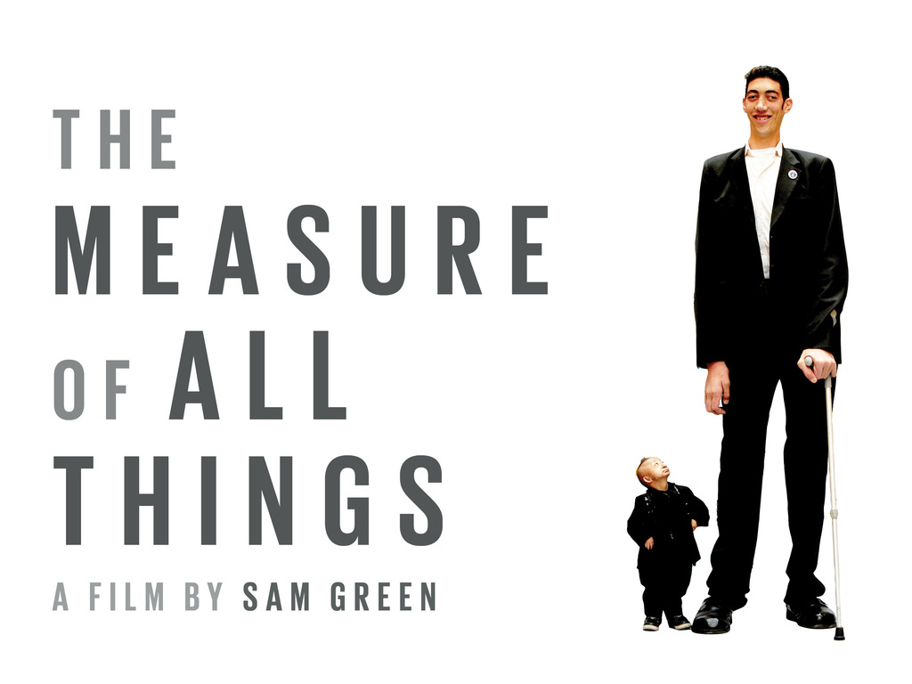 The Measure of All Things: a new live documentary's video poster