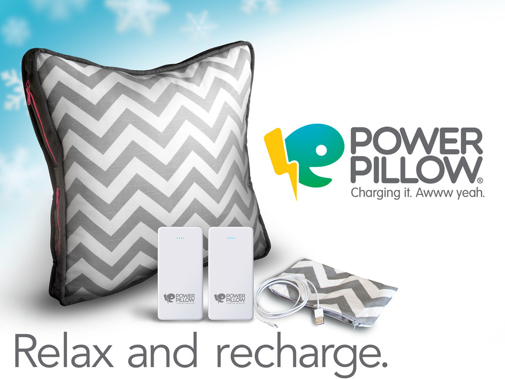 Power Pillow: The phone and tablet charging system for all.'s video poster