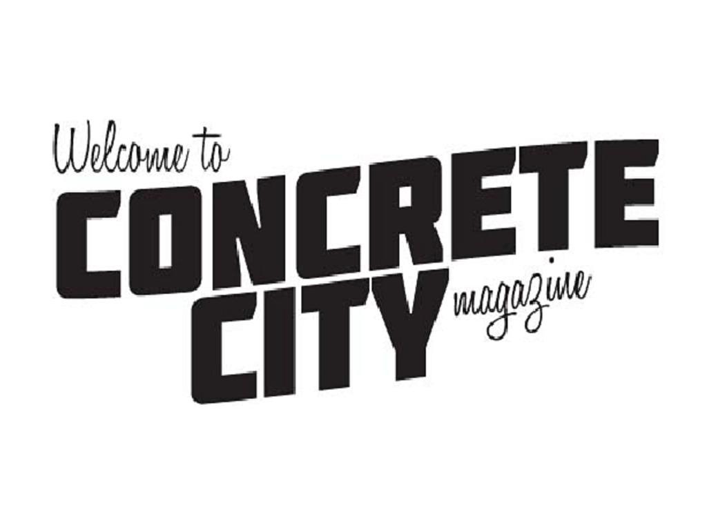 concrete city magazine's video poster