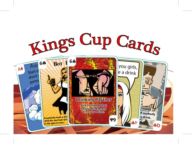 kings cup cards
